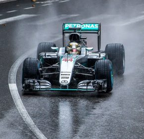 lewis hamilton f1 by andrew locking